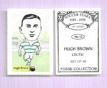 Glasgow Celtic Hugh Brown 12 (FC)